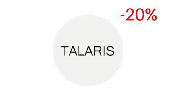 Скидка 20% на косметику по уходу Talaris.